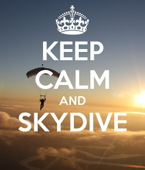 Keep Calm And Skydive Robertson School