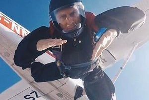 Reinhardt Fourie Robertson Skydive School Accelerated Freefall