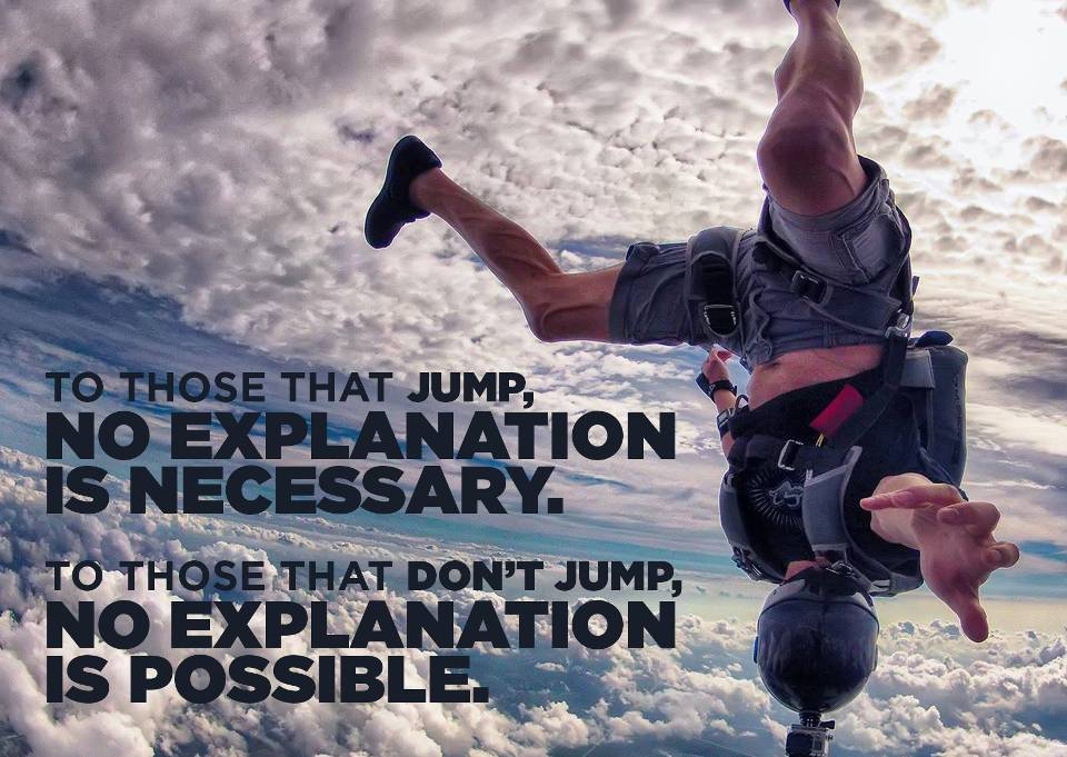 What is it like to skydive?