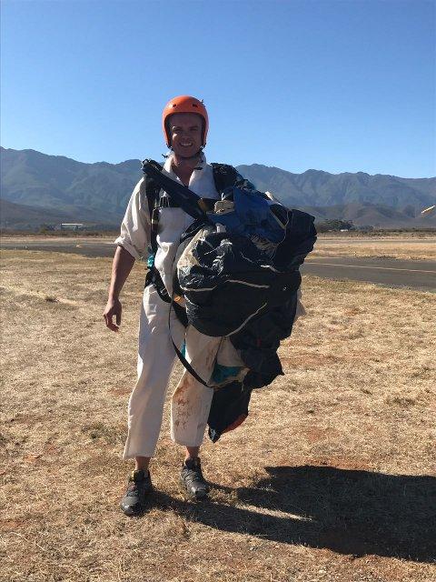 Paul Kotze Robertson Skydive School Successful Jump One