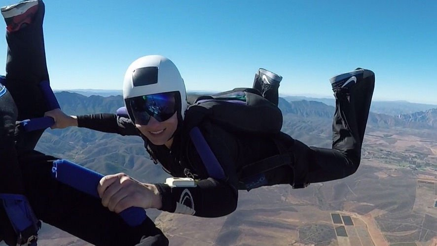 Yvette Smal Robertson Skydive School Flying High